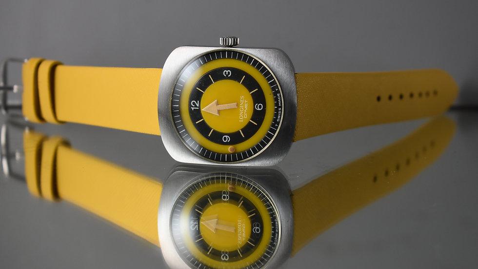 Longines Rare Comet 8475 Mystery-Bullseye 70's Watch