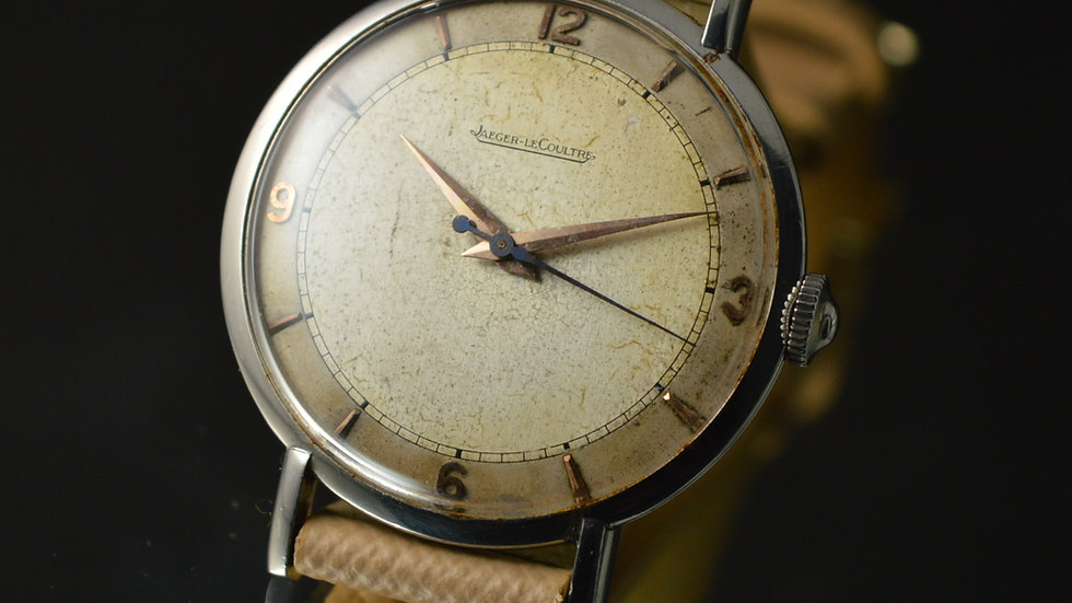 Jaeger-LeCoultre – 1940's Classic Vintage Steel Watch – Cal. P478/c