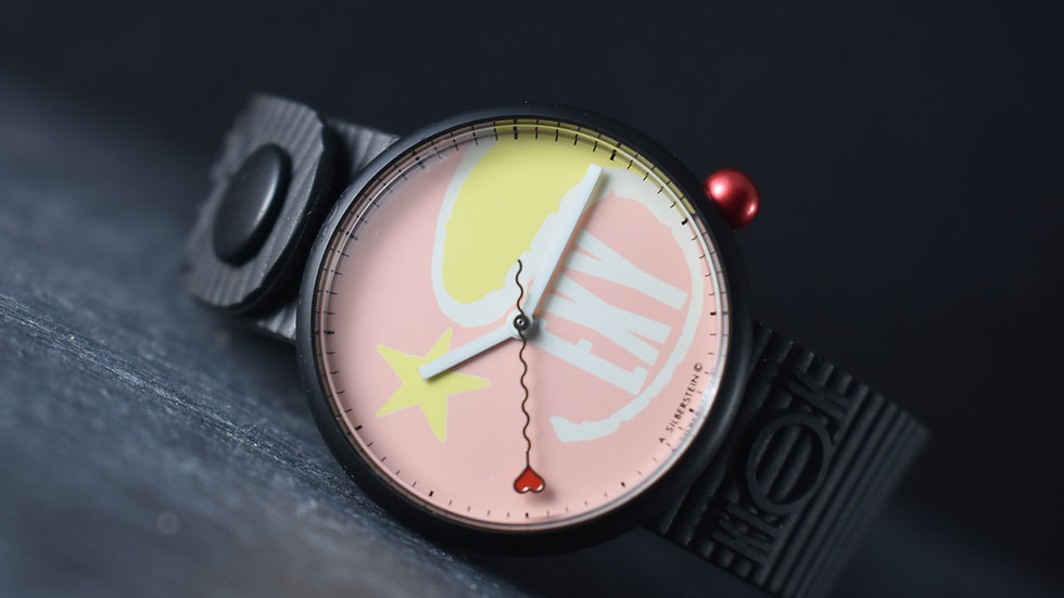 "Alain Silberstein New Old Stock ""sexy"" Klok Collection Watch"