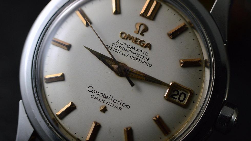 Omega Constellation Calendar Chronometer Stainless Steel cal.504
