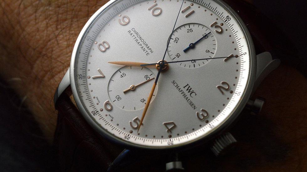Full Set Wonderful Rattrapante Chronograph 41mm Stainless Steel White Dial 3712