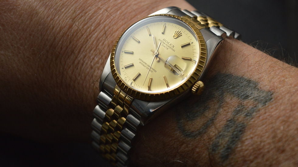 Rolex Stunning Oyster Perpetual Date Chronometer Cal.3135