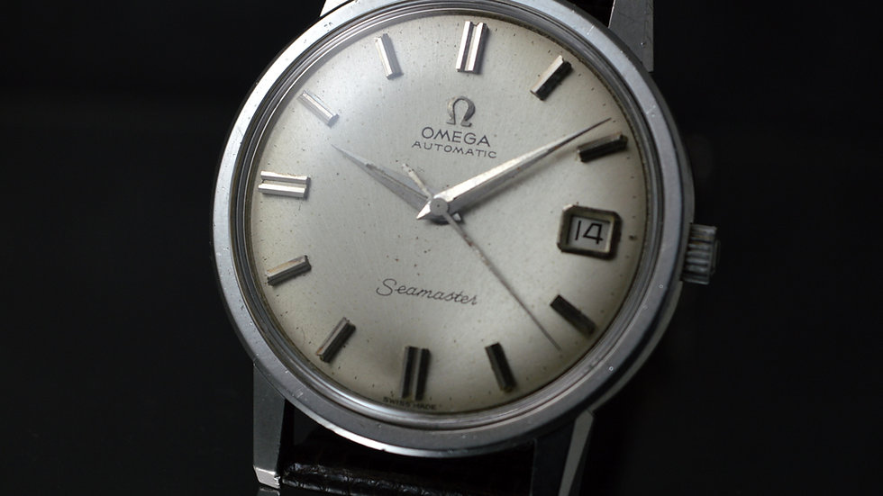 Omega Men's Seamaster Date Stainless Steel Automatic 166.003 Cal. 562