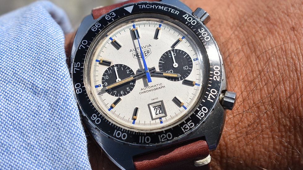 Heuer The Real Jo Siffert Automatic Chronograph 1163 Cal.11