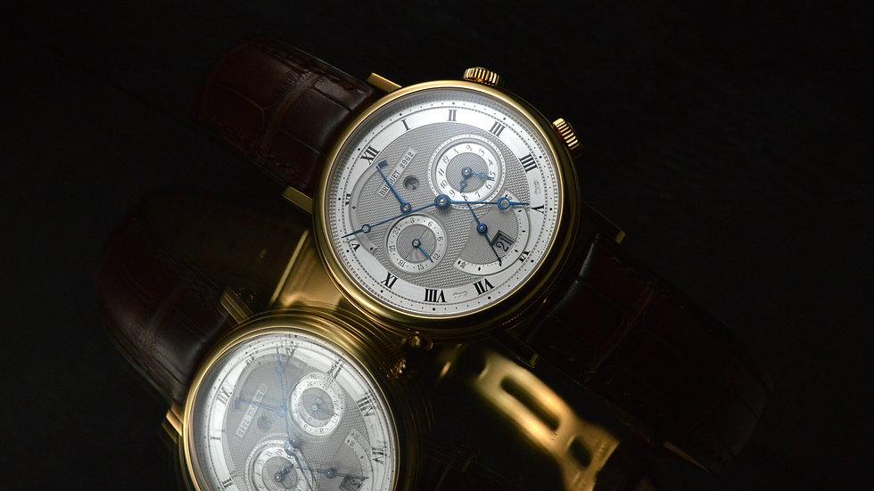 Breguet Mint Condition Full Set Le Reveil Du Tsar Classique Alarm 39mm + Service