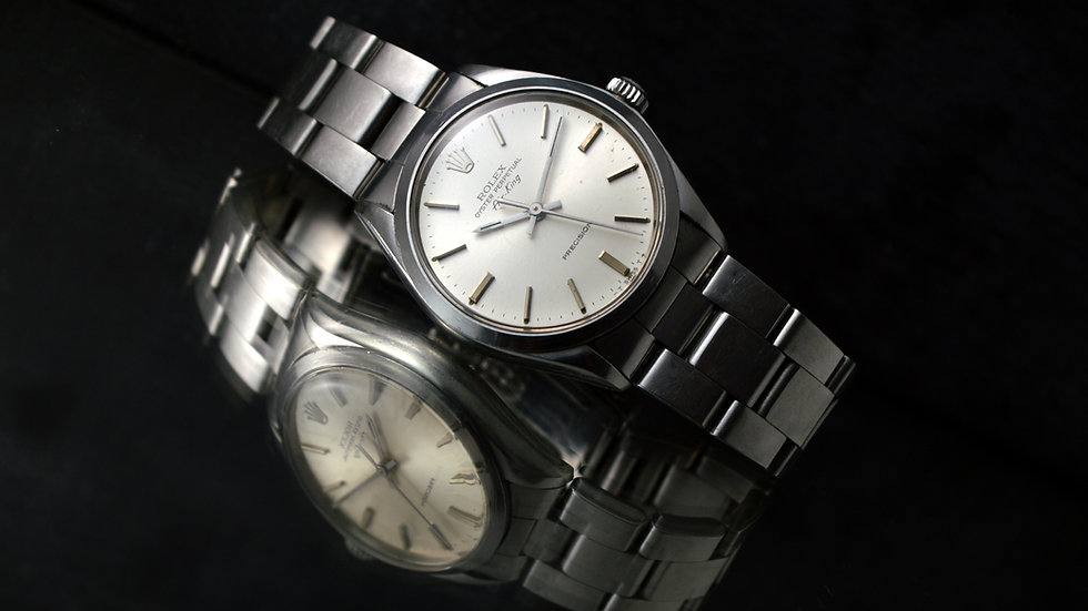 Rolex Air King Precision Vintage Automatic Silver Dial 34mm Oyster band