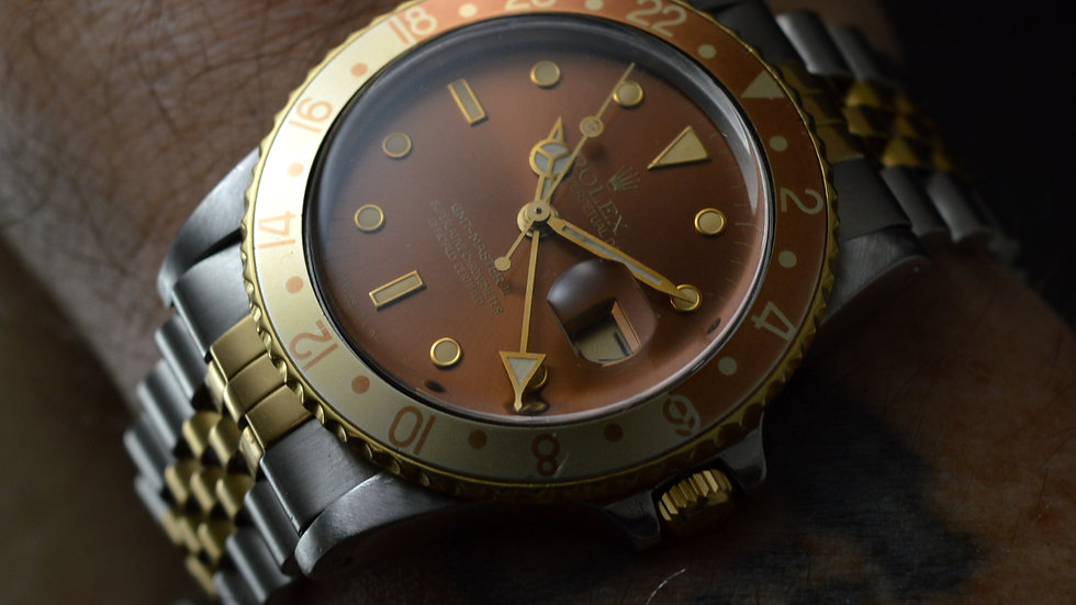 Rolex GMT-Master 16753 EYE OF THE TIGER (1983)