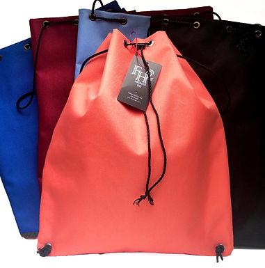 Medium Weight Canvas Drawstring Backpack