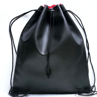 Smooth (Matte) Two Tone Drawstring  Backpack