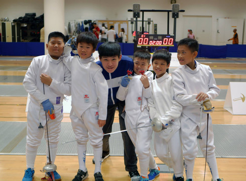 Singapore Minime Fencing Championships 2018