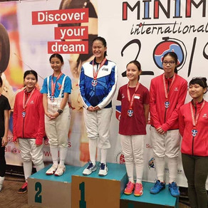Modern Fencing Minime International 2019