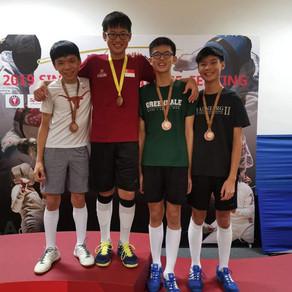 2019 Singapore Minime Fencing Championships 2