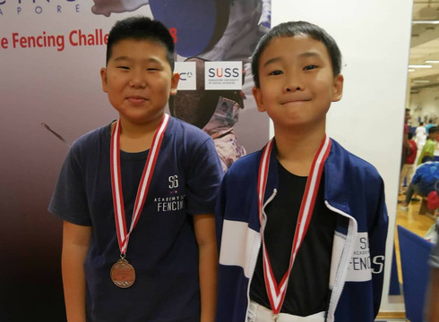 Singapore minime Fencing Challenge 2018