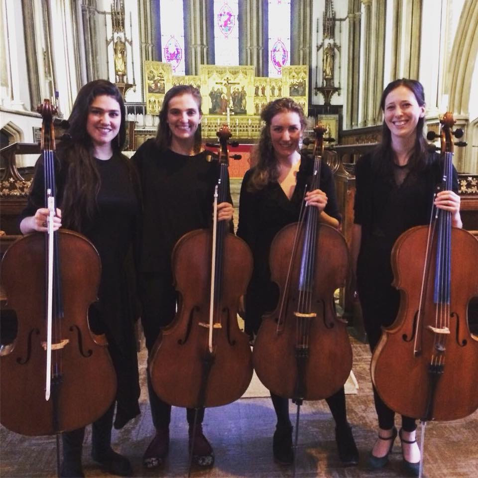 Cello Quartet, St Mary's Aylesbury