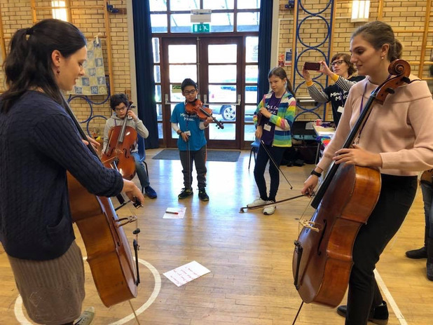 Workshop Bath Strings Academy