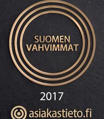 SRTONGEST IN FINLAND 2017  AA+