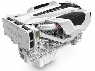New MAN D2676LE423 (i6-800) marine engine 2 units )in-line 6 cylinder marine engine