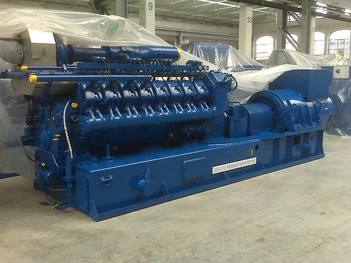 new gas DEUTZ MWM TCG2020V20 2MW (2000 кВт) generator set