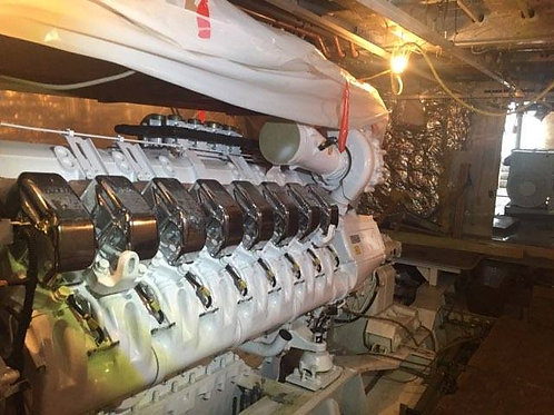 MTU 16V4000M90 marine propulsion engines sale16V 4000 M90 MTU marine