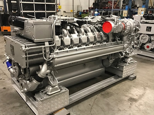 MTU 16V2000M94 marine engine reconditioned sale