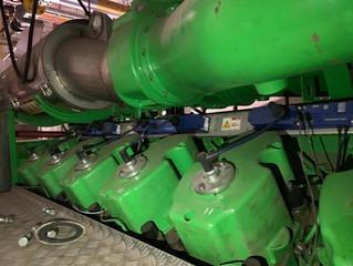Gas power plant Jenbacher JMS 612 GS N unused new 2000 kW Газопоршневая генераторная установка 2000