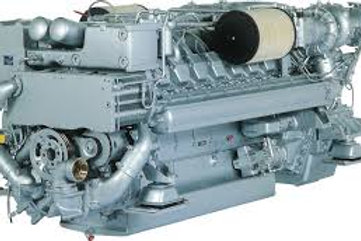 MTU  12V2000M90  1350HP  @ 2300RPM  fiable engine   FULLY RECONDITITONED