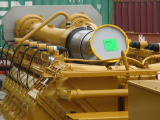 New unused Caterpillar CG170-20 Natural Gas Industrial Generator Sets 2000 kW 50Hz available sale