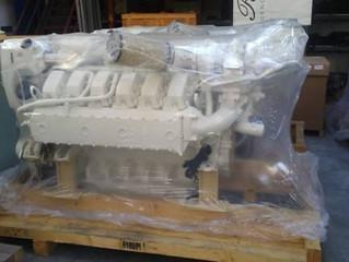 02  Man D2862 LE496 V12-2000 HP marine engines sale surplus new units ZF3055