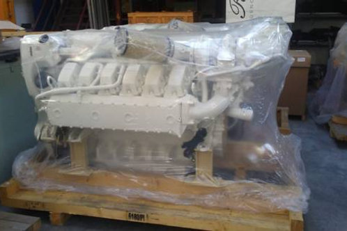New Man D2862LE496 V12-2000 HP marine engines , new/02 gears ZF 3055  ratio  1