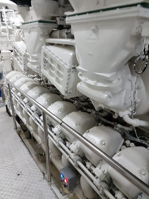Копия 2* MTU 20V1163TB93 marine engines in good running condition
