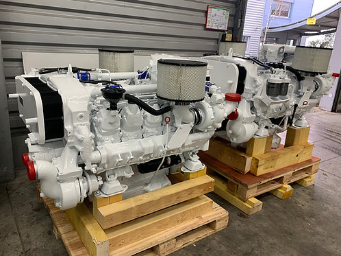 MTU 8V-183-TE92 657 HP  marine propulsion engines