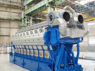 Dual fuel Wärtsilä W12V50DF Package Gas/ Diesel Generator Sets Approx. power 11.7MW (14112 kVA) sale