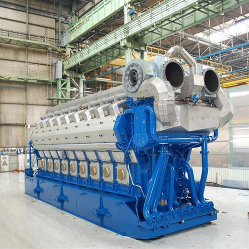 Dual fuel Wärtsilä W12V50DF Package Gas/ Diesel Generator Sets 11,7 MW