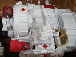 New ZF3055 marine transmissions for sale , surplus stock.