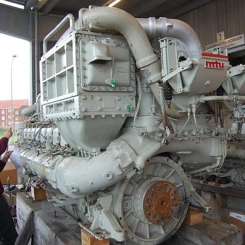 MTU 16V 396 TB84 Marine Diesel engine 16V396  TB75 / TB84