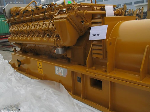 2000 KW Caterpillar CG170-20  GAS Generator set