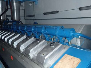 9,7 MW Wartsila 20V34SG Natural Gas Engines / Wartsila 16V34SG Natural Gas sets / ABB Alternators  a
