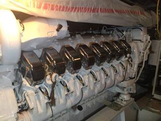 2x NEW MTU- 16V4000M90 MTU Marine propulsion engines  for fast pleasure vessels and boats. new, unus