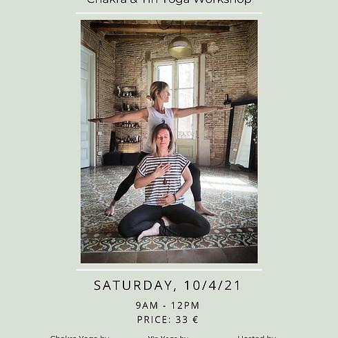 Chakra & Yin Yoga Workshop