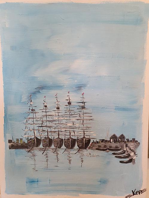 Hav & fiskelägen - Österlen,  KEP -  Nr 2