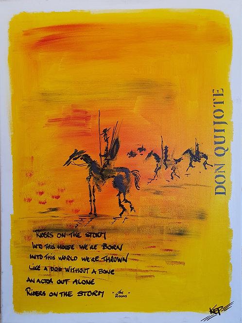 Variation - Figurativ, KEP -  Nr 6 [Don Quijote]