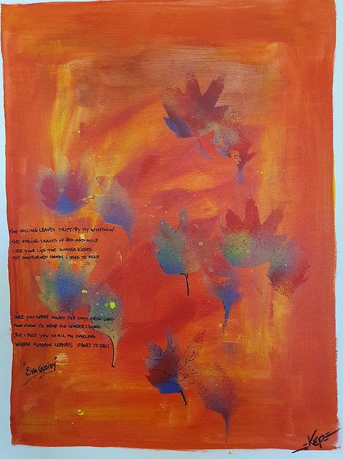 """Variation - Figurativ, KEP -  Nr 12 -  """"Autumn Leaves"""""""