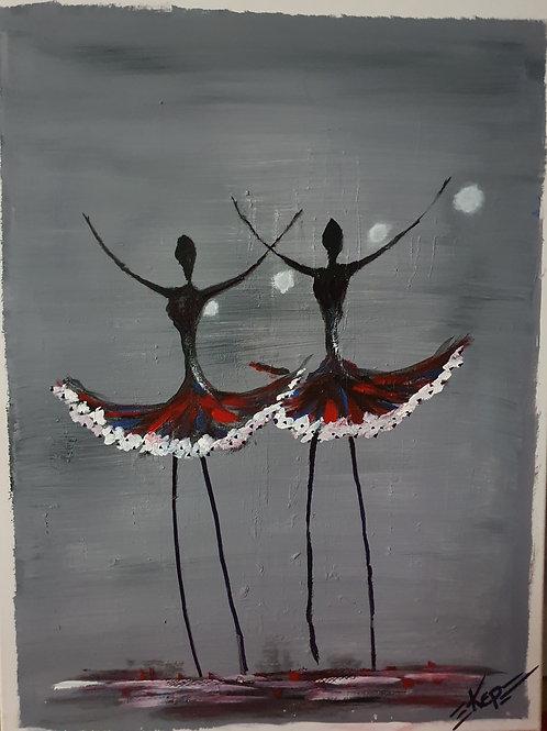 Ballerinas, KEP -  Nr x Darkred Twins