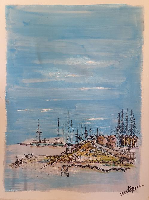 Hav & fiskelägen - Österlen, KEP -  Nr 10