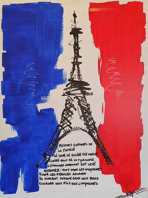 Variation - Figurativ, KEP -  Nr 2 [Eiffeltorn]