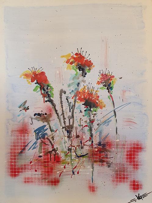 "Variation-Figurativ, KEP Nr 21 - ""Wild Flowers"""