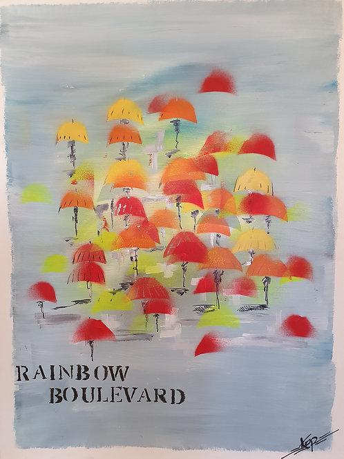 "Variation - Figurativ, KEP Nr 16 - ""Rainbow Boulevard"""