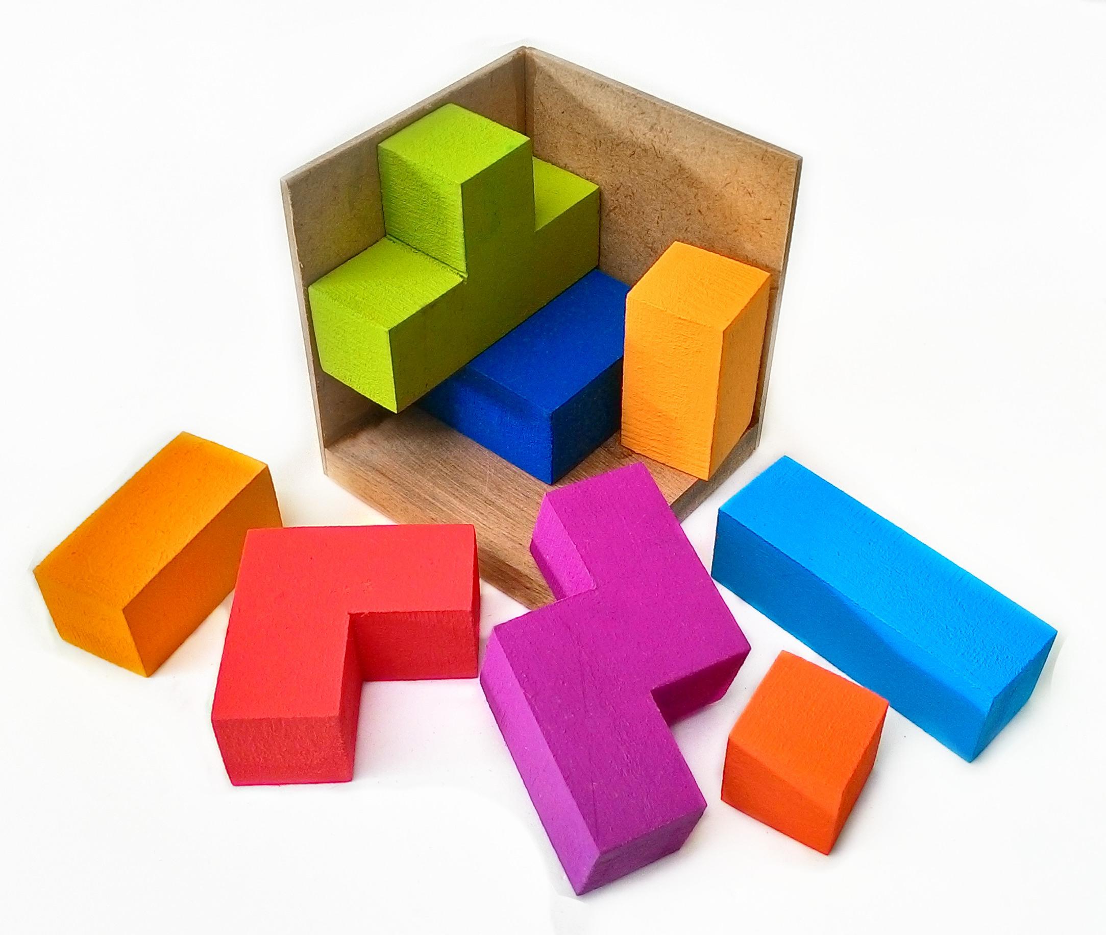 Cubo Tetris - Quebra Cabeça
