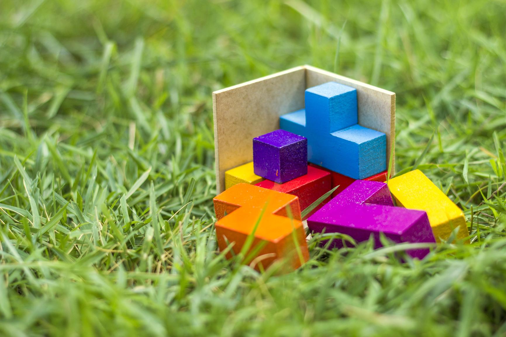Cubo Tétris - Quebra Cabeça