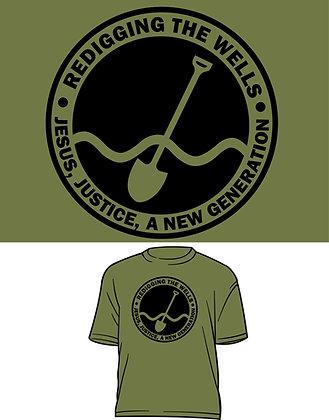 Redigging the Wells Logo T-Shirt